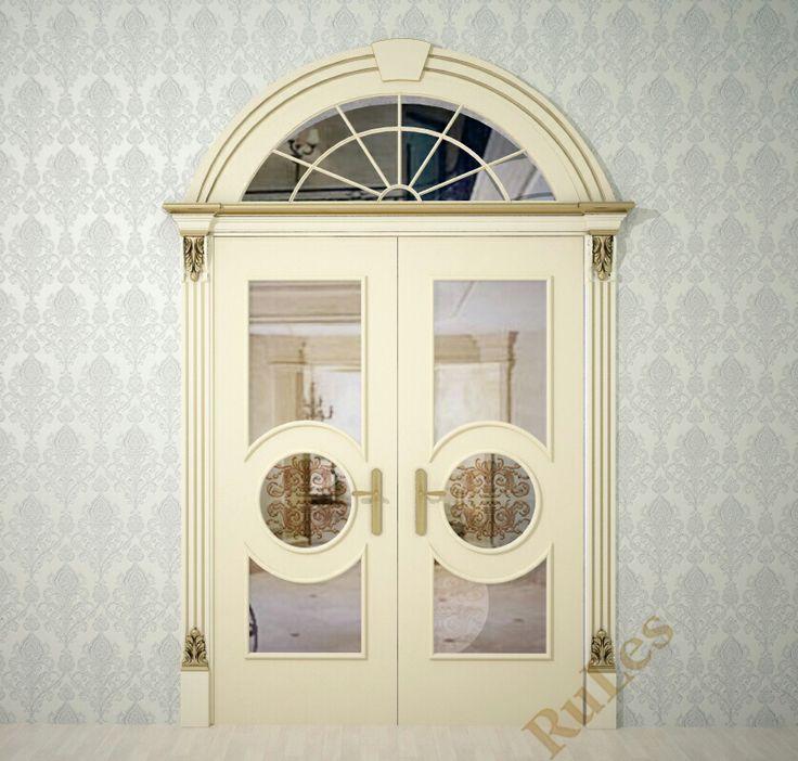 """Проект двери """"Версаль"""" от """"RuLes""""  #межкомнатные #дверь #интерьер #декор"""