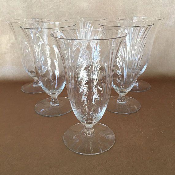 new product e10f0 4e02e Vintage Water Glass, Cambridge Glass, Caprice Pattern, 1930s ...