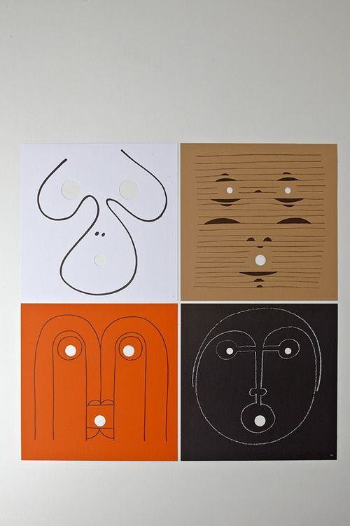 Look into my eyes by Bruno Munari