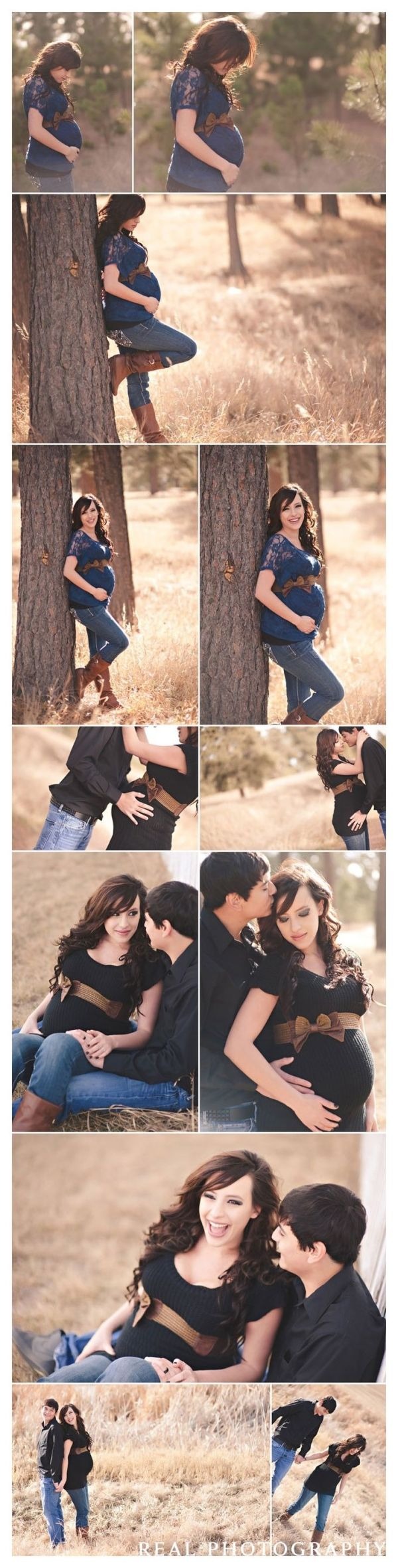 maternity photo shoot ideas | Maternity photo shoot clothing ideas love this ... | Baby Bump {Ins... by MommaJones