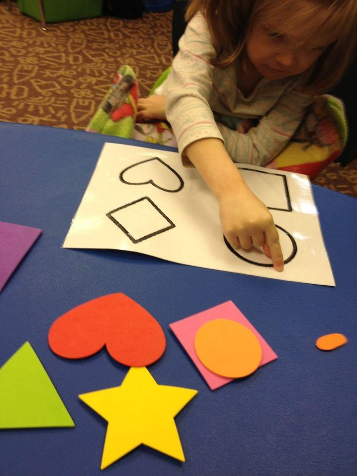 Miss Allison's Class: Teaching Shape Identification--A Multisensory Approach