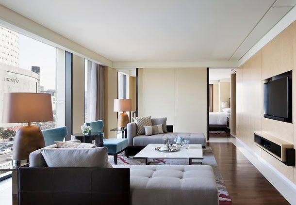 Hotel suite in Seoul