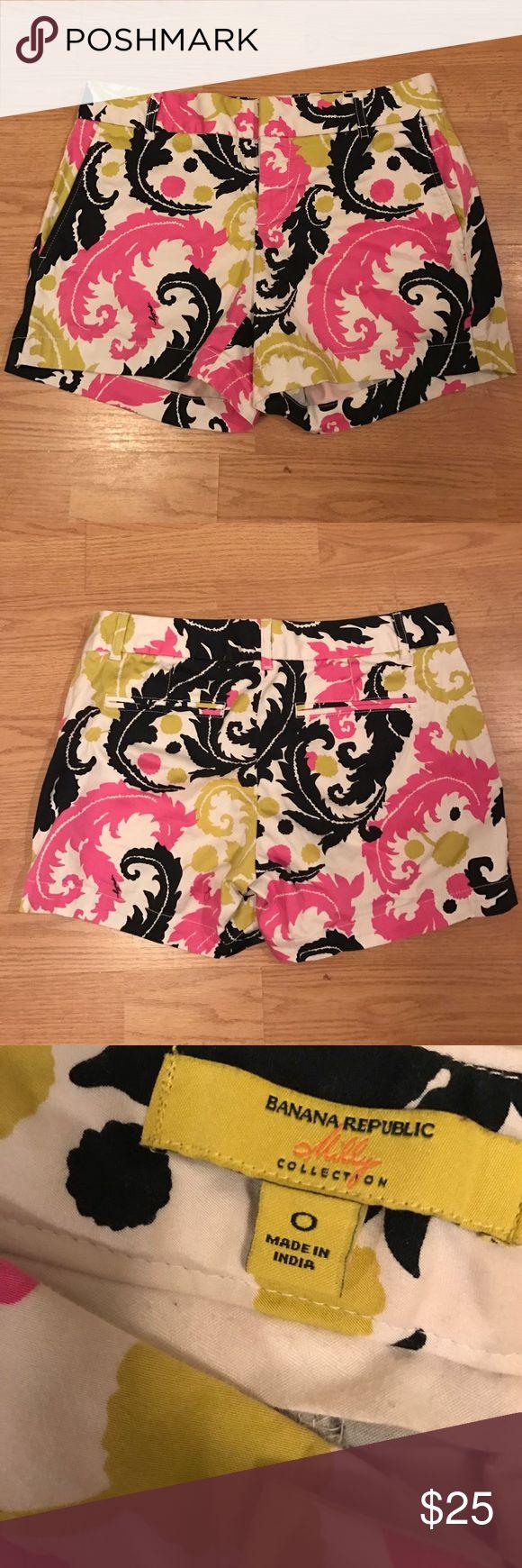 Milly for Banana Republic shorts Designer brand Milly for Banana Republic. Worn 5-6 times. Great condition. Banana Republic Shorts