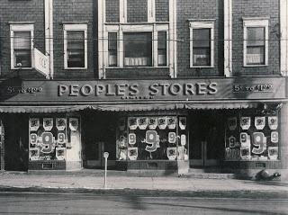 Glace Bays Peoples Store, Glace Bay, Cape Breton, Nova Scotia, 1953 | Photographs And Memories, Cape Breton, Nova Scotia