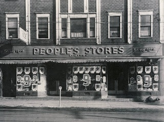 Glace Bays Peoples Store, Glace Bay, Cape Breton, Nova Scotia, 1953 | Photographs And Memories, Cape Breton, Nova Scotia