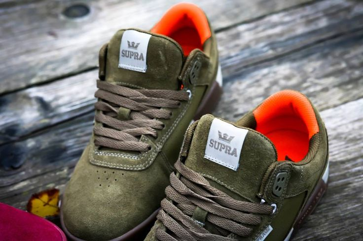 New holiday colors for the Supra Footwear Ellington.