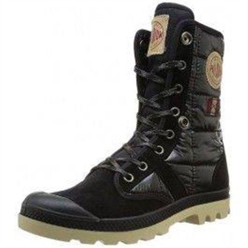 bottes palladium baggy exp teflon f noir, chaussur femme palladium c64pallad100
