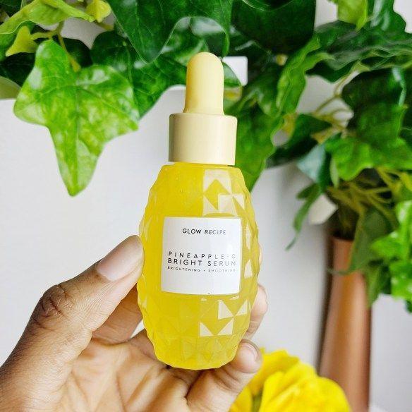 Glow Recipe Pineapple C Brightening Serum Review - Beauty Frenzy #KoreanBeautyRoutine