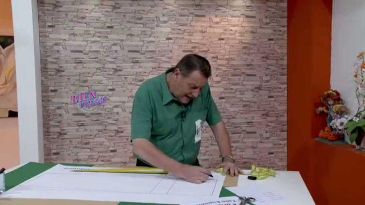 Explica el DELANTERO DE UN PANTALOS DE TALLE ESPECIAL .  Hermenegildo Zampar - Bienvenidas TV en HD - Explica el delantero de un ...
