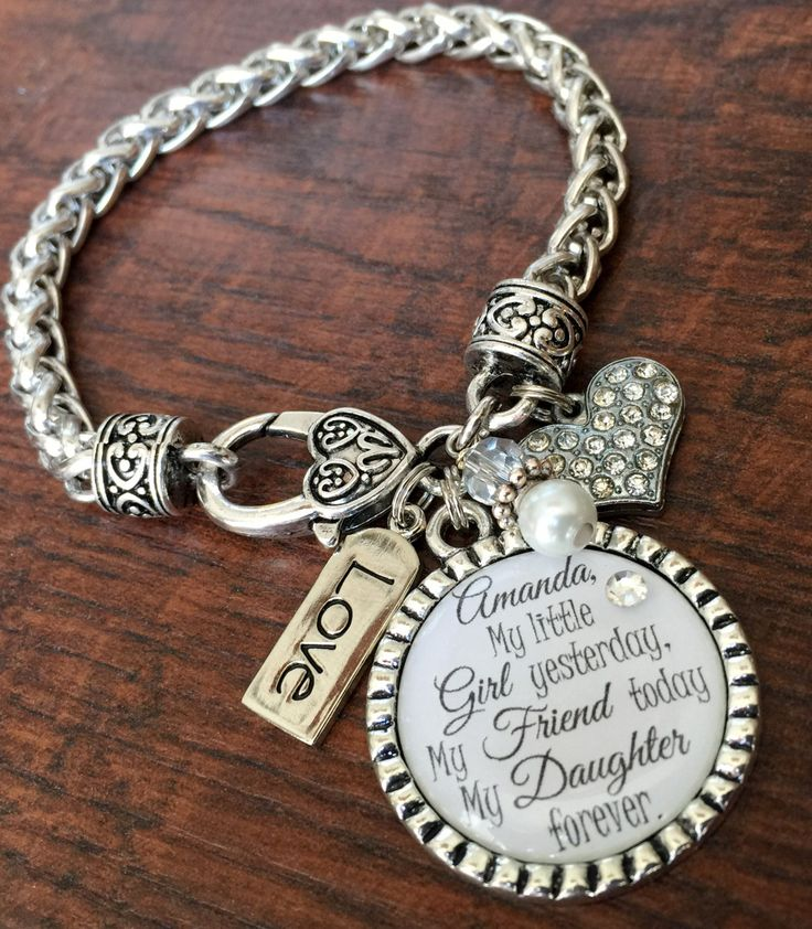 Wedding Gifts For Mother In Law: I'll Love You Forever, Mother Daughter Bracelet, Mother