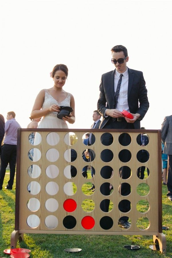 Giant Connect 4 hired from www.thevintageway.com.au