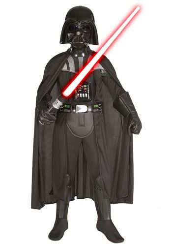 Child Deluxe Darth Vader Costume - Boys Darth Vader Costumes