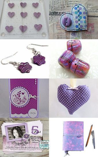 Shades of Purple by Carolyn Ford on Etsy--Pinned with TreasuryPin.com