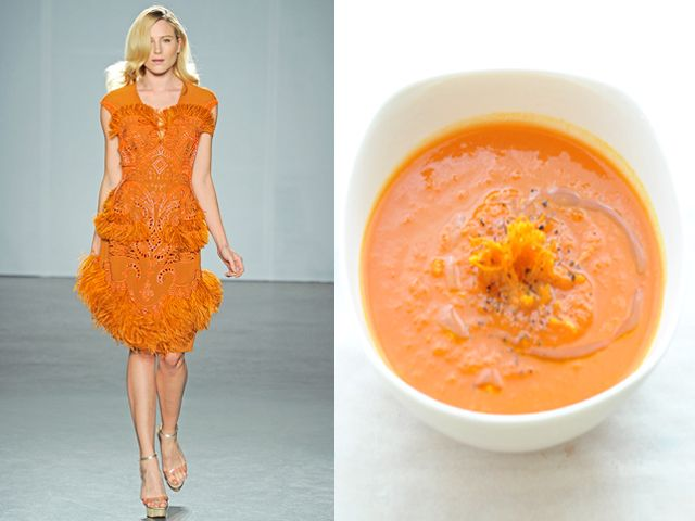 MATTHEW WILLIAMSON / CREAM OF CARROT SOUP