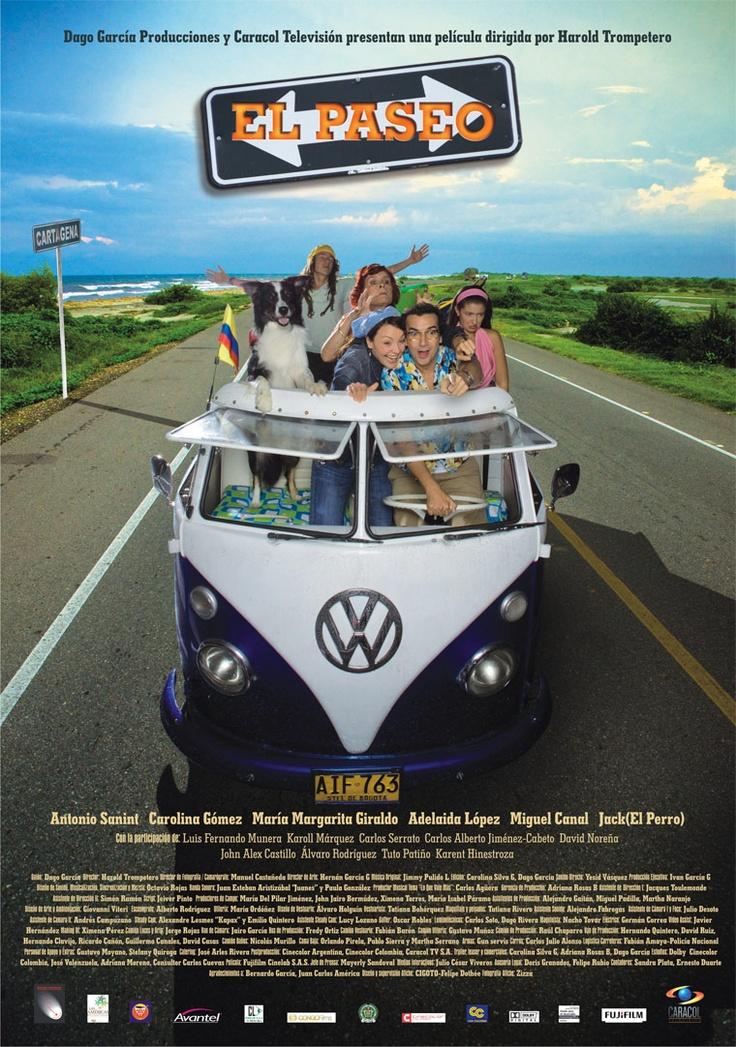 El paseo, una película que hace parte de la Semana del Cine Colombiano: http://www.mincultura.gov.co/semanadelcine/