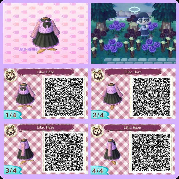 Top Les 453 meilleures images du tableau Animal Crossing QR - Clothes  RA05
