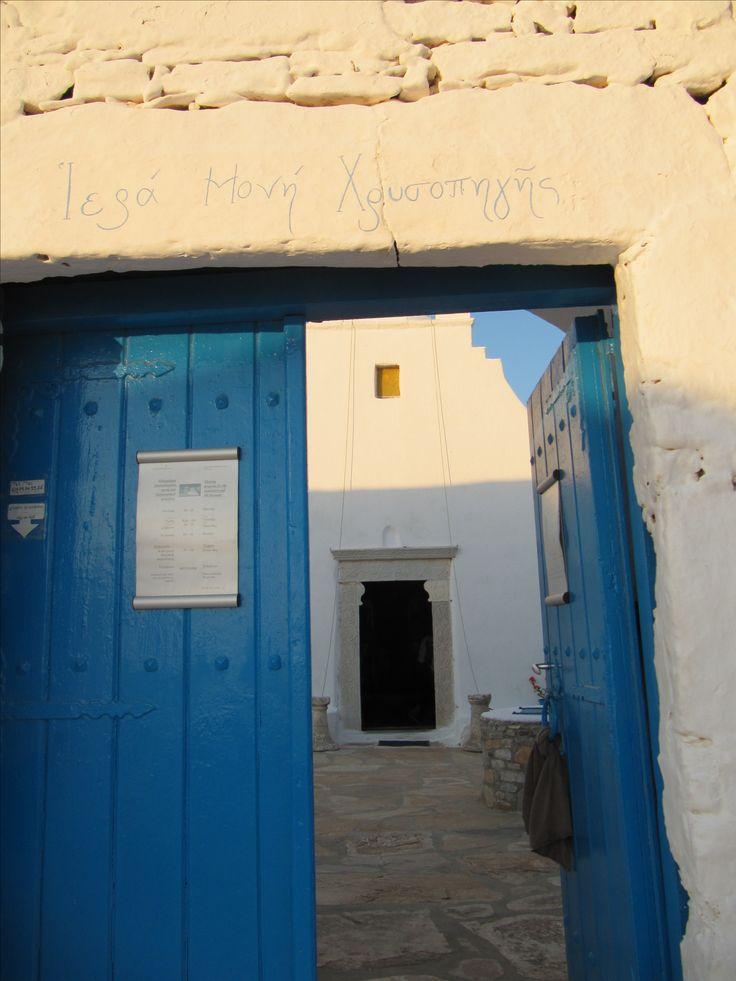 The Monastery of Chrysopigi, Sikinos island, Greece