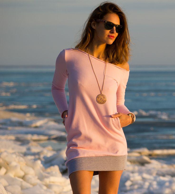 Sukienka CLIVIA pink