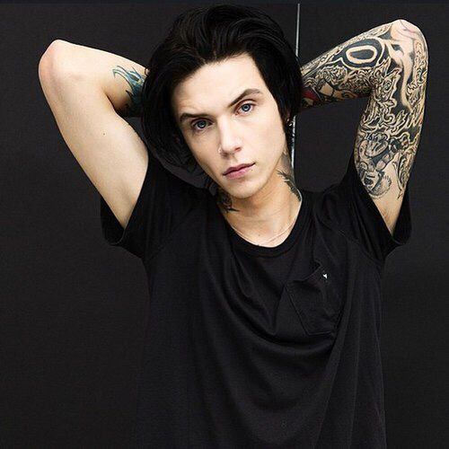 andy biersack, black veil brides, bvb - image #2651428 by marky on ...