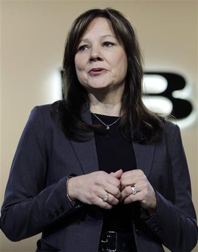 GM appoints 1st Woman CEO