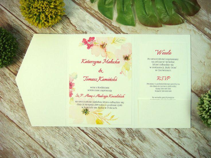 zaproszenie ślubne w folderze Hk4