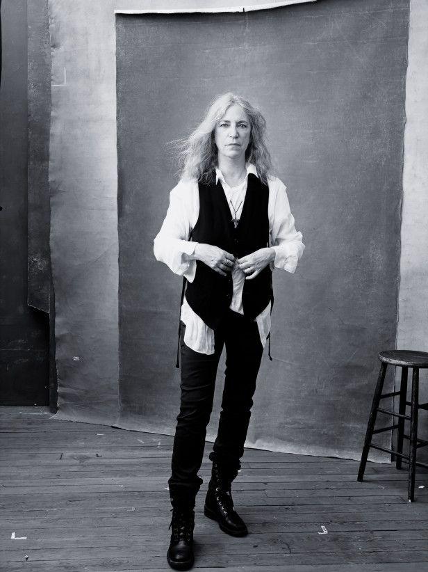 Patti Smith, Novembre 2016 - Photo : Annie Lebovitz