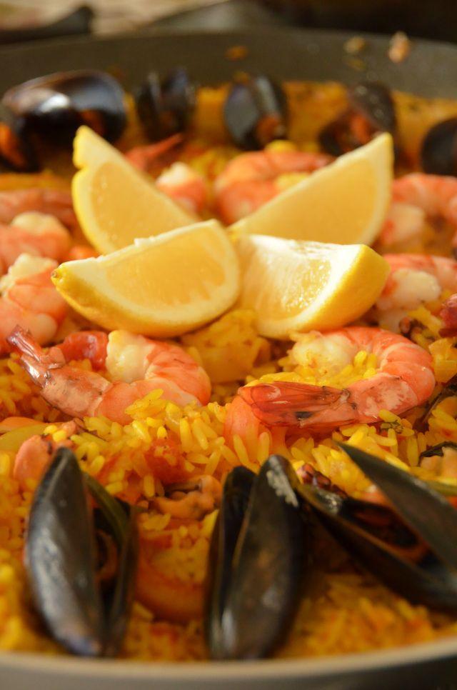 Seafood Paella - Paella de Frutos do Mar