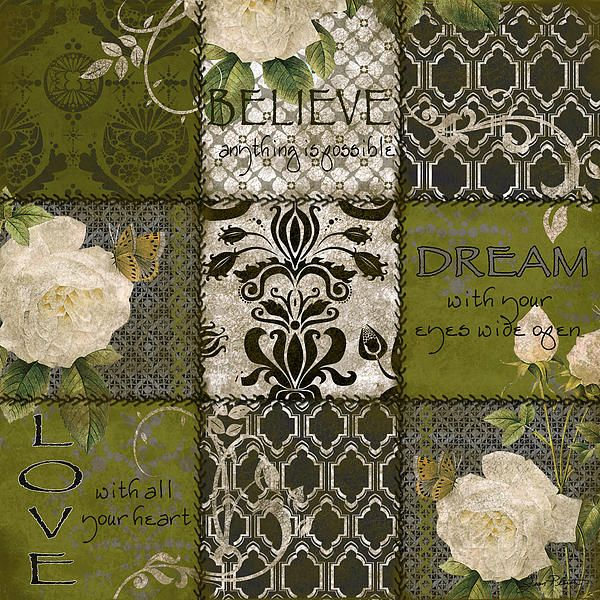 I uploaded new artwork to fineartamerica.com! - 'Boho Patchwork-b' - http://fineartamerica.com/featured/boho-patchwork-b-jean-plout.html via @fineartamerica