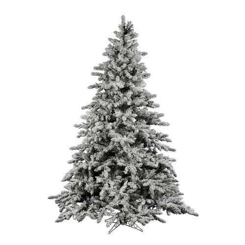 22 best The Best Unlit Flocked Artificial Christmas Trees images ...
