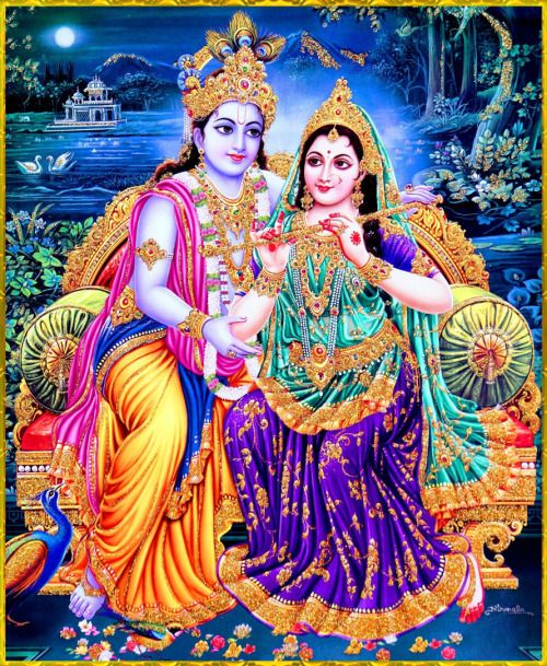 ✨ RADHA KRISHNA ✨Artist: NirmalaHare Krishna Hare Krishna Krishna Krishna Hare HareHare Rama Hare Rama Rama Rama Hare Hare
