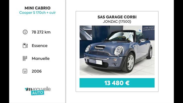 Annonce Voiture Occasion Mini Cabrio Cooper S - Montendre