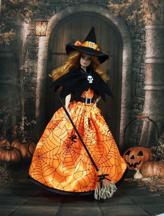 647 best halloween dolls images on pinterest halloween doll barbie doll and barbie. Black Bedroom Furniture Sets. Home Design Ideas