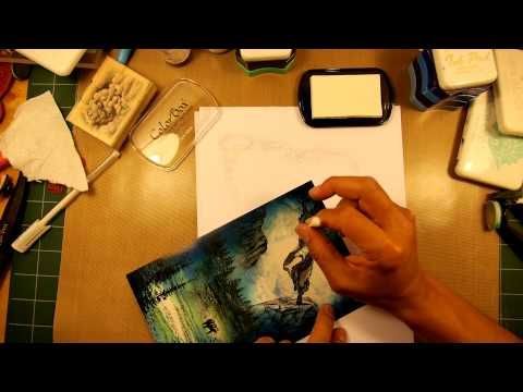 Stampscapes 101: Video 50. Light in the Meadow. - YouTube