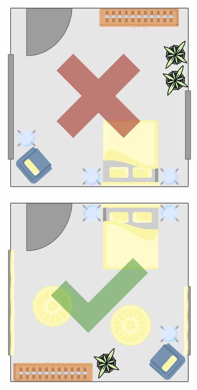Feng Shui Schlafzimmer » Einrichten und Gestalten | Feng ...