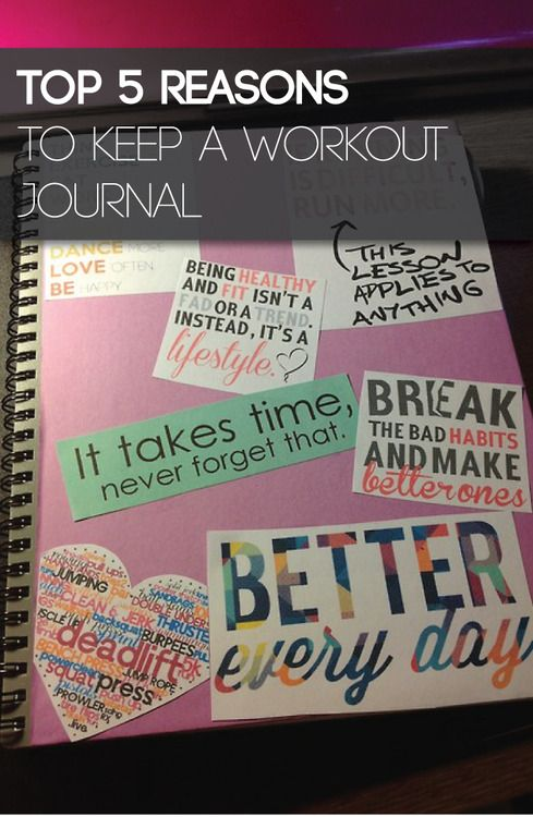 You will be amazed at how a pen and paper can get you in better shape. The following are the top 5 reasons why you should be keeping a workout journal. #fitness #health