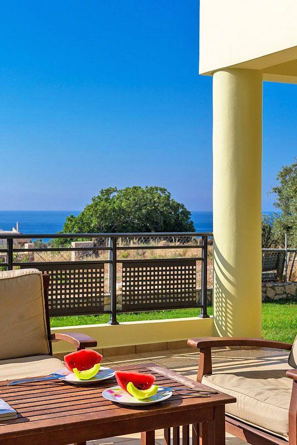 Villa Grigoris in Sfakaki, Rethymno. #crete #TheHotelgr #travel #villa #relaxing #view