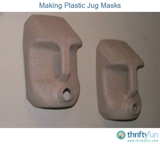 This guide is about making plastic jug masks. Frugal fun masks can be made by with recycled plastic jugs.