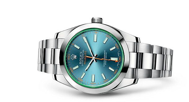 Z-Blue – Discover the Milgauss watch in 904L steel on the Official Rolex Website. Model: 116400GV