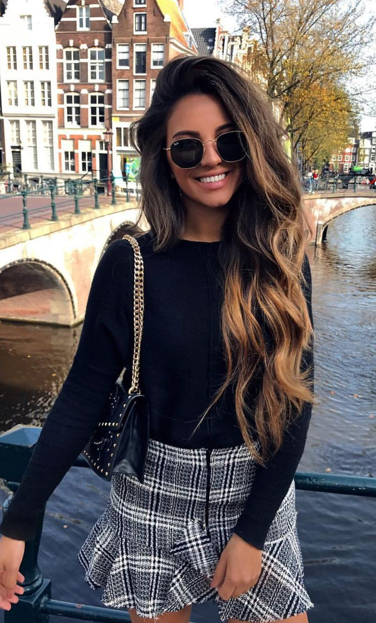 ♥️ Pinterest: DEBORAHPRAHA ♥️ Long hair + curls + volume + ombre hair color