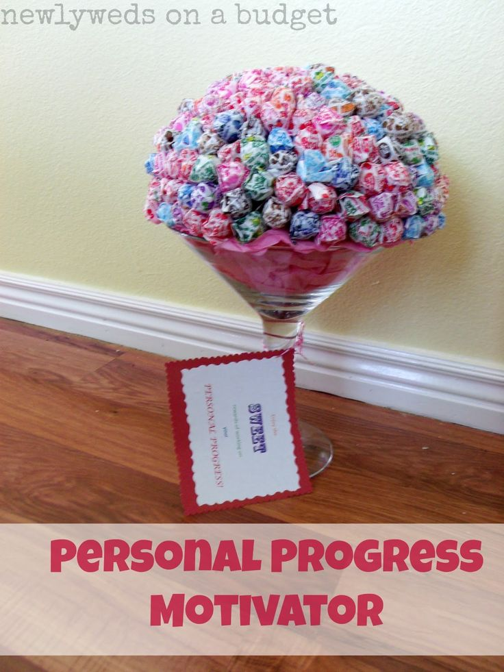 Get girls excited about Personal Progress-with this personal progress motivator [newlyweds on a budget]