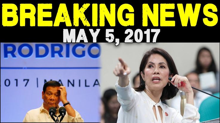 NAKAKAGULAT NA BALITA NGAYONG ARAW MAY 5 2017 PANOORIN BREAKING NEWS TODAY