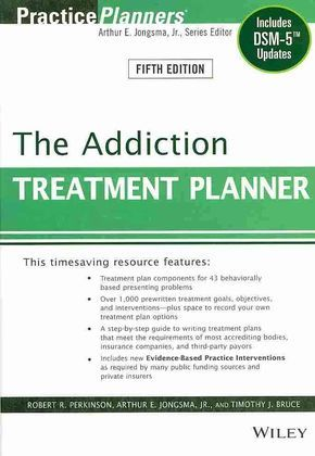 <p><b>The bestselling treatment planning system for mental health professionals</b></p><p><i>The Addiction Treatment Planner, Fifth Edition</i> provides all the elements necessary to quickly and easily develop formal treatment plans that satisfy the de...