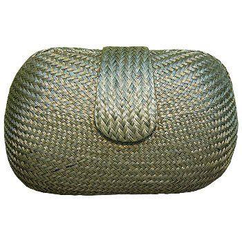 Shop Handmade Handbag: AKT Vianca Minaudiere Silver Gray ...