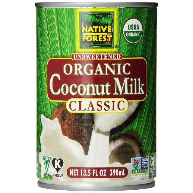 Native Forest Organic Classic Coconut Milk. Keto approved product