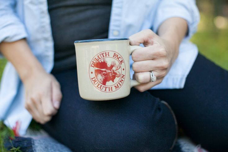 Must have authentic mug! Red Wing Pottery x Duluth Pack. Shop in store or online at www.duluthpack.com!