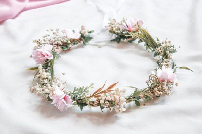 27 Best Cherry Blossom Wedding Theme Ideas Emmaline Bride In 2020 Cherry Blossom Wedding Theme Cherry Blossom Wedding Baby Breath Flower Crown