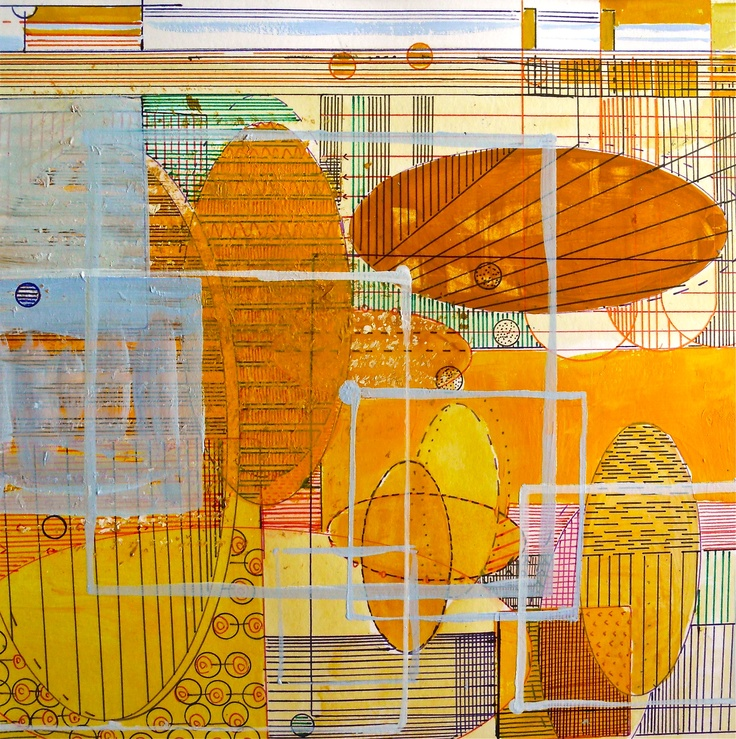 Title: Lines. Mixed media. Marianne Mehl Lauvland