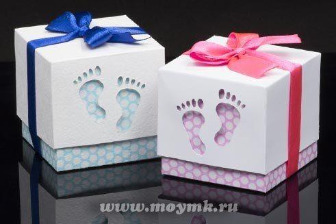Como hacer cajas de regalo para baby shower
