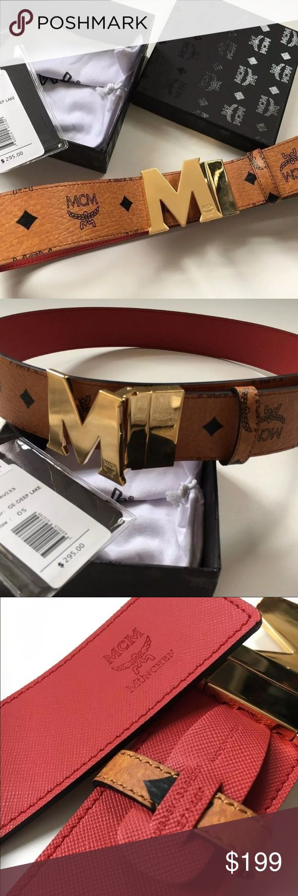 MCM Designer Belt selling cheap hmu, have multiple in stock, everything on my page is 100% authentic, if you want to purchase an item please text me before purchasing - // 402 913 7730// MCM Other