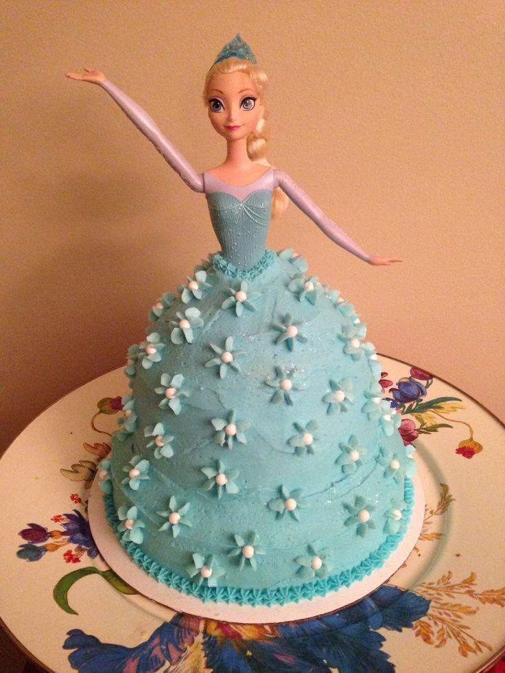 Disney Frozen Elsa Cake | Julie's Sweet Treats | Frozen ...